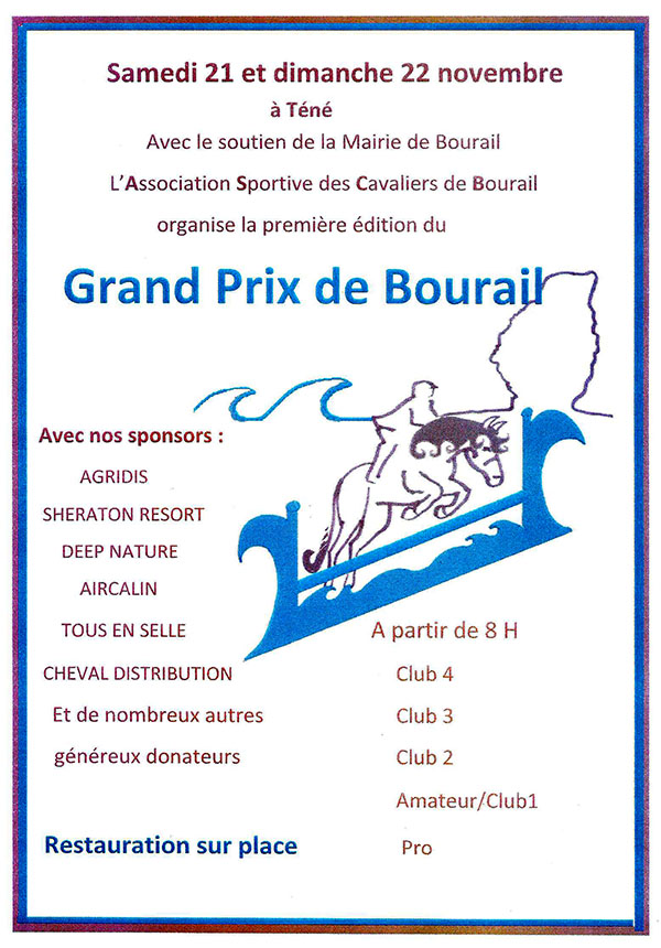Grand Prix Saut d'obstacles - ACSB - 21 & 22 novembre